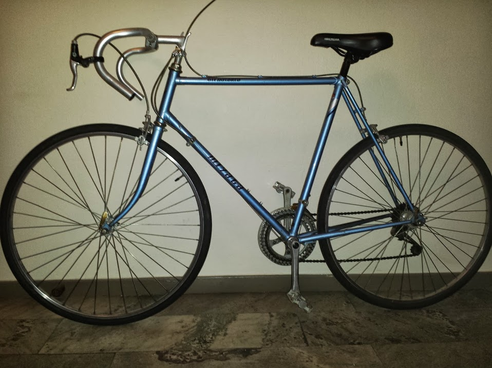 Miyata One Hundred before restauration