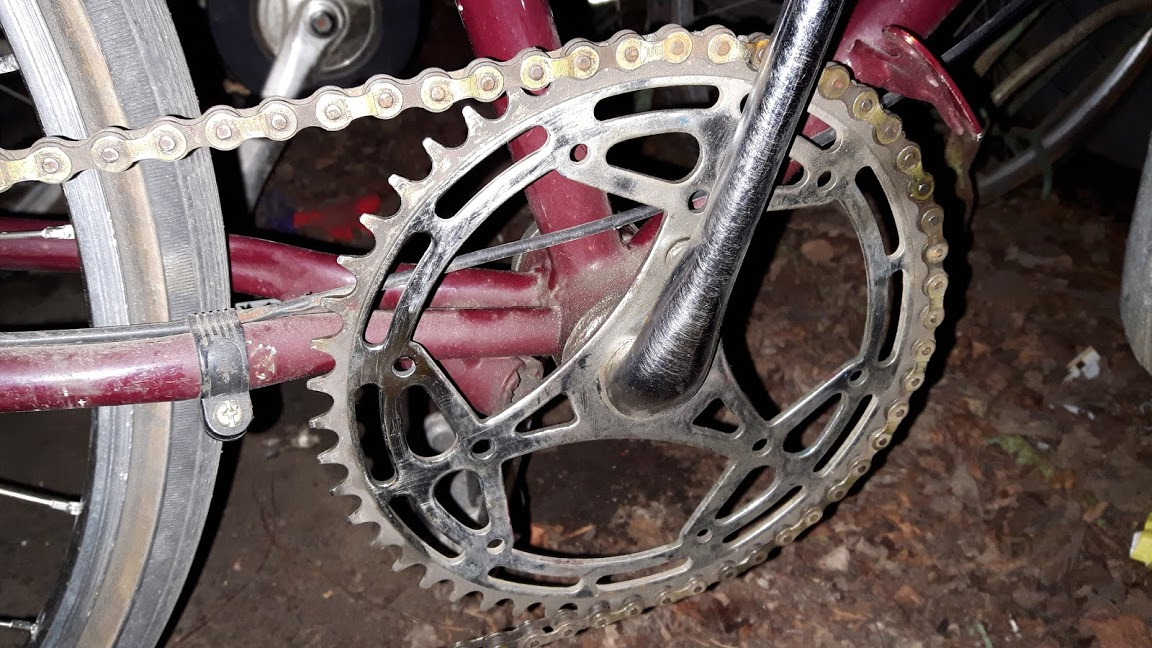 identify the chainring