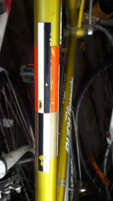 top tube decals on the Puch Bergmeister
